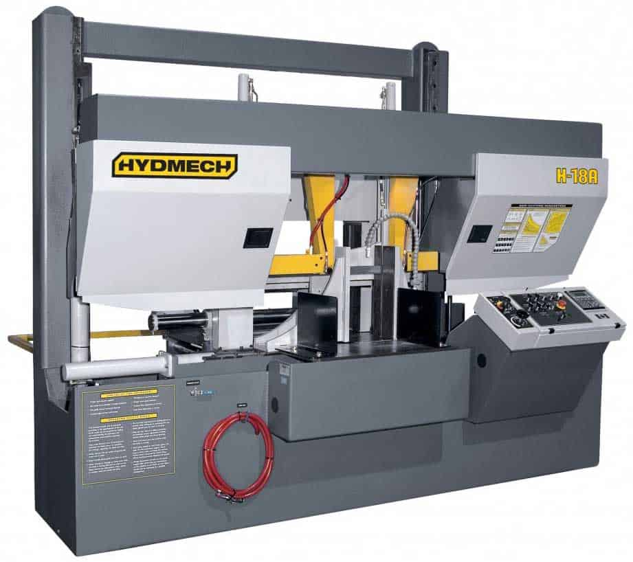 HYDMECH H-18A-120 – Automatic Long Bar Feed Horizontal Band Saw, New Machinery