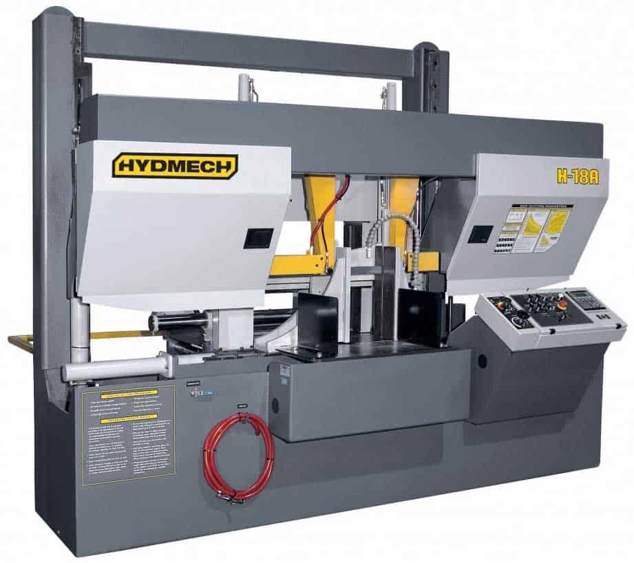 HYDMECH H-18A-120 – Automatic Long Bar Feed Horizontal Band Saw, New Machinery