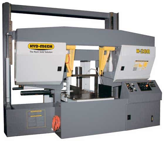 HYDMECH H-28A-120 – Automatic Long Bar Feed Horizontal Band Saw, New Machinery