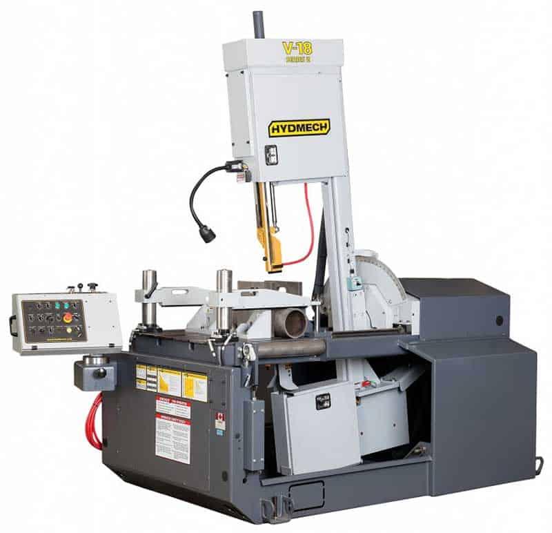 HYDMECH V-18 — Semi-Automatic Vertical Band Saw, New Machinery