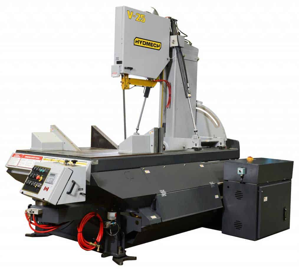 HYDMECH V-25 — Semi-Automatic Vertical Band Saw, New Machinery