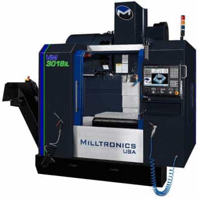 Milltronics VM3018IL Vertical Machining Centers, New Machinery,Advanced Machinery Companies