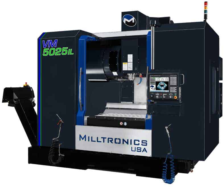 Milltronics VM5025IL Vertical Machining Centers, New Machinery, Advanced Machinery Companies