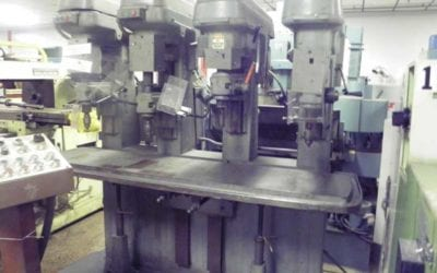Used Drilling Machine | Cincinnati 4-Spindle Drill Press Drilling Machine
