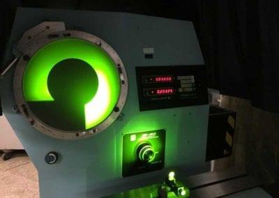 "Used Optical Comparator | Jones Lamson Epic 114 Floor Model 14"" Optical Comparator | Advanced Machinery Companies"