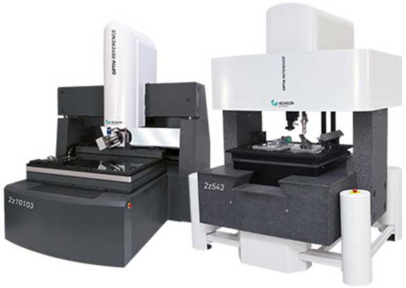 Hexagon Multisensor and Optical CMMs, New Machinery