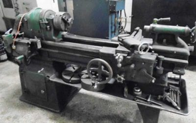 Used Engine Lathe | South Bend 16″ Lathe, with taper, 3-jaw, Single phase