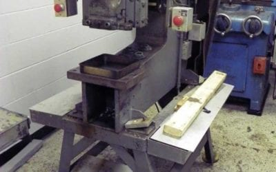 Used Mechanical Punch | Whitney-Jenson Single End Mechanical Punch