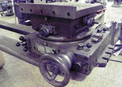 "Used Machinery, Advance Cross Slide Rotary Table 11"" x 11"" - Advanced Machinery Companies"
