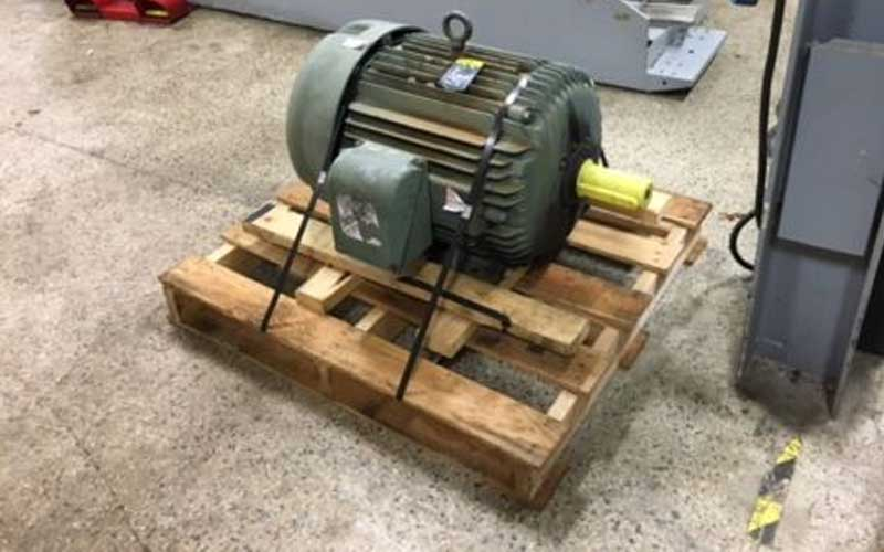 Used Machines Baldor 75 HP 230/460 1774 rpm Motor Spec. 14CO51X385H1