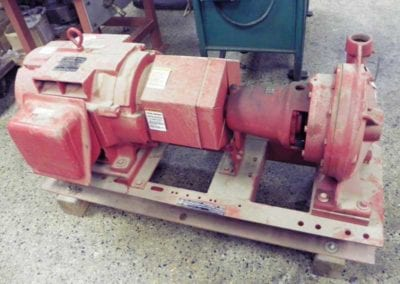 Used Machinery, Bell & Gossett 30 Hp Series 1510 Base Mounted End Suction Pump - Advanced Machinery Companies
