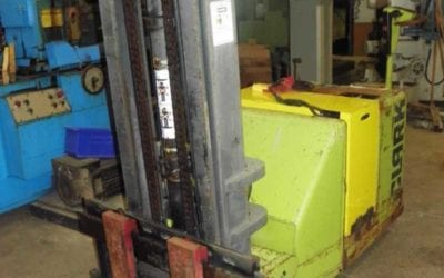 Used Machinery | Used CLARK Fork Lift Walk Behind Stacker