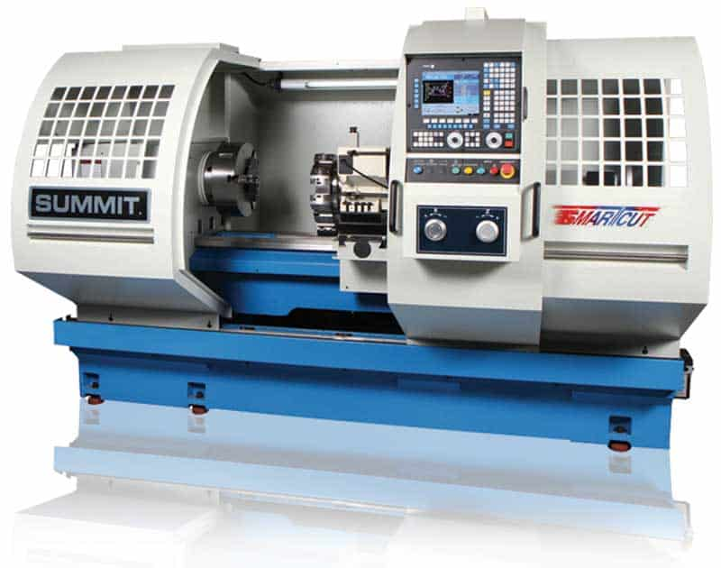 Summit CNC Lathes, New Machinery