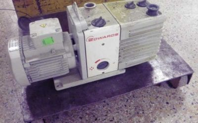 Used Machinery | Rotary Vacuum Pump Edwards Model RV12