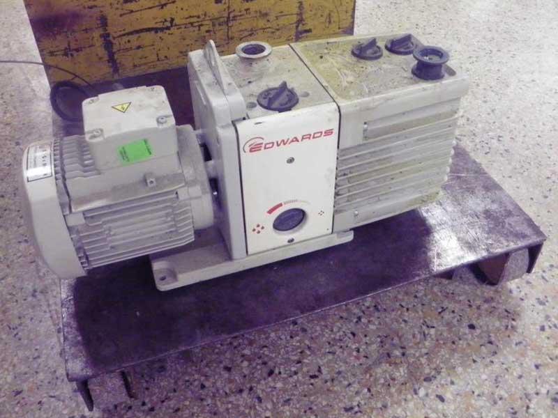 Used Vane Vacuum PumpEdwards Model RV12 Rotary Vane Vacuum Pump