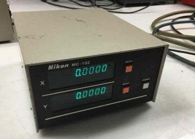 Nikon MC-102 2-Axis Digital Readout Box DRO - Advanced Machinery Companies