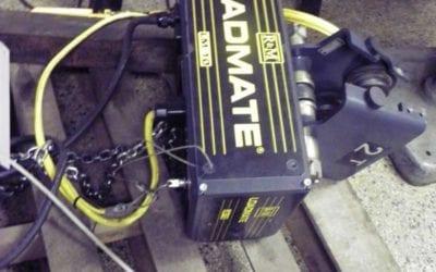 Used Machinery   R & M Loadmate LM10 1 Ton Hoist