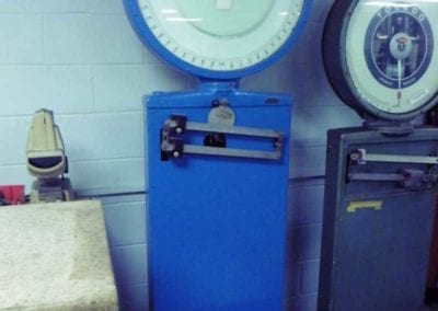 Used Machinery, TTriner Model 11417 Dial Type Industrial Scale 400 lbs capacity - Advanced Machinery Companies