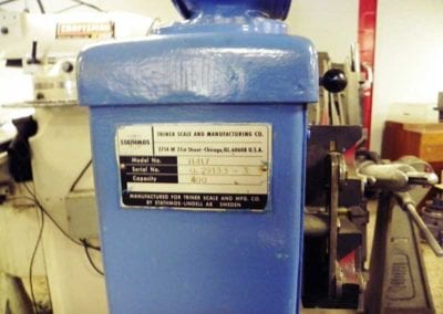 Used Machinery, Triner Model 11417 Dial Type Industrial Scale 400 lbs capacity - Advanced Machinery Companies
