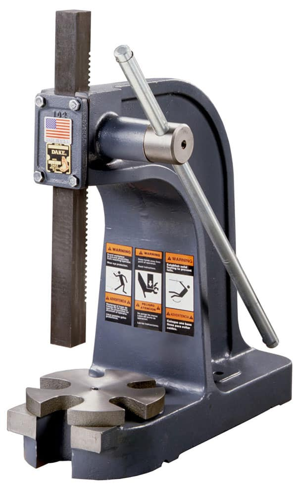DAKE Metalworking Equipment, Arbor Presses