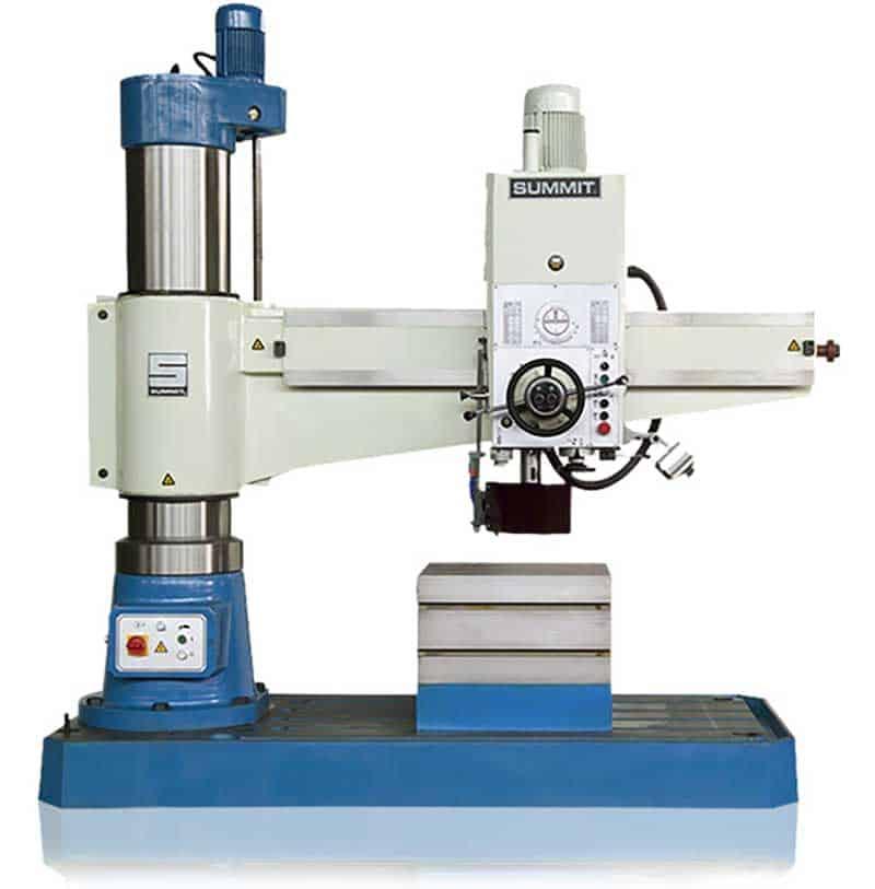 Summit Radial Drills, New Machinery