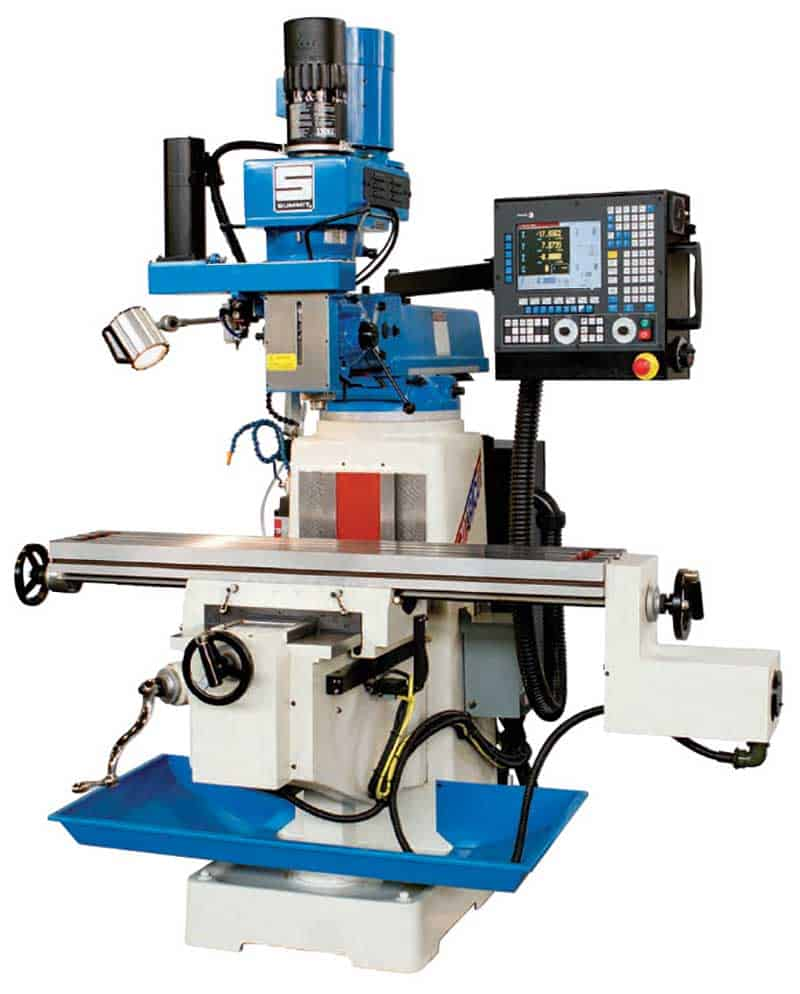 Summit Milling Machines, New Machinery