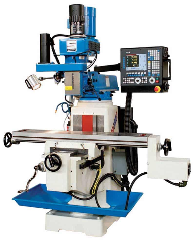 Summit Milling Machines, New Machinery