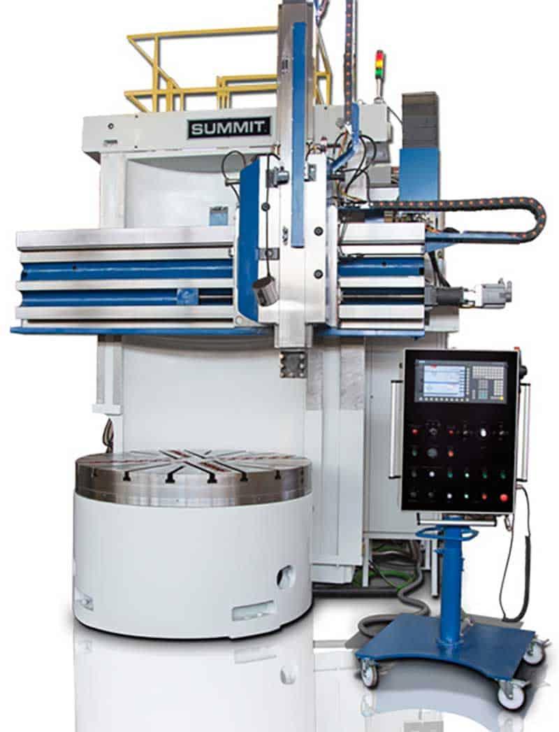 Summit Hybrid/Manual & CNC Vertical Boring Mills, New Machinery