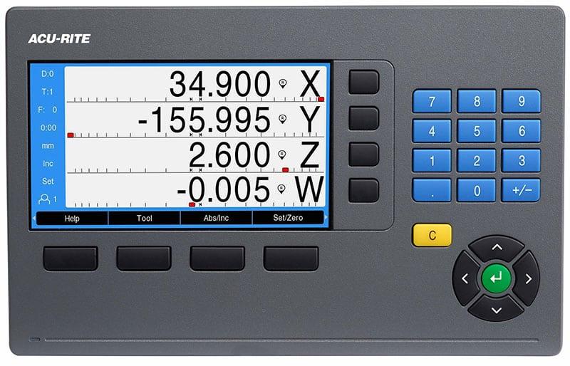 ACU-RITE DRO300 Digital Readout, ACU-RITE Controls & Readouts
