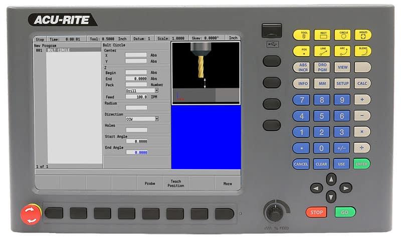 ACU-RITE MILLPWR G2, ACU-RITE Controls & Readouts
