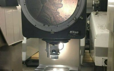 Used Optical Comparator | 12″ NIKON Model
