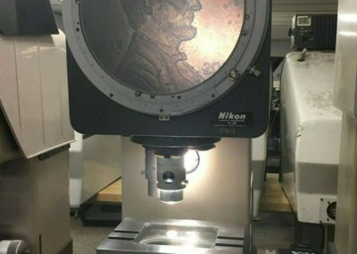 """Used Machinery, Used Comparator, 12"""" NIKON Model V12 Bench Top Optical Comparator / Profile Projector 
