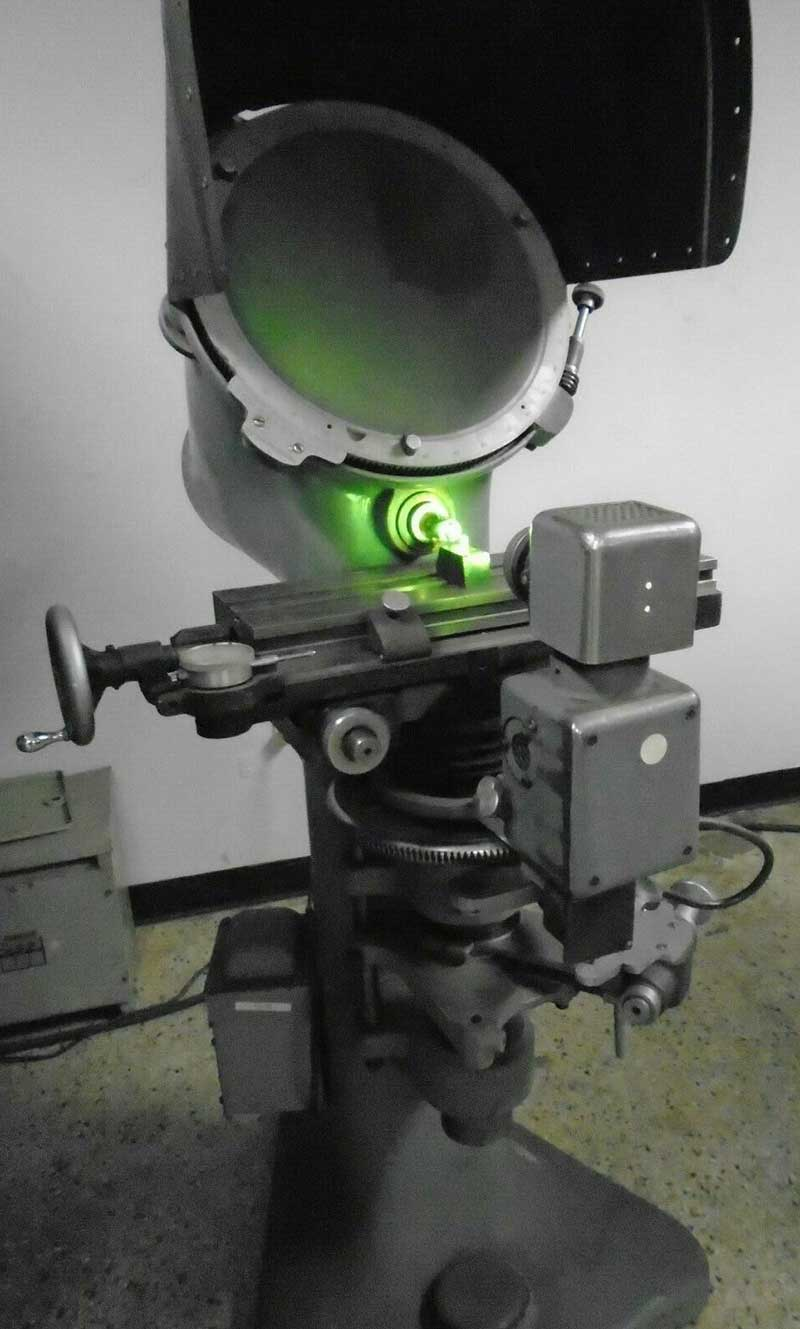 "Used Optical Comparator | 14"" Jones & Lamson J & L Floor Standing Model PC-14 Optical Comparator"
