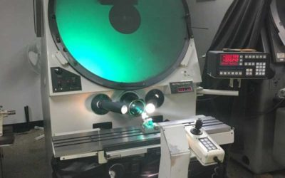 Used Optical Comparator | 30″ Scherr Tumico Model