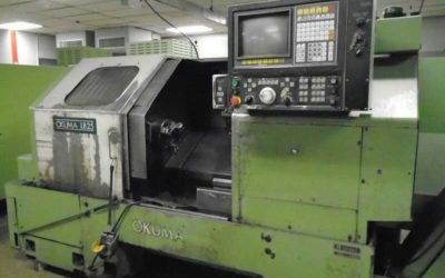 Used CNC Turning | OKUMA LB25 CNC Turning Center