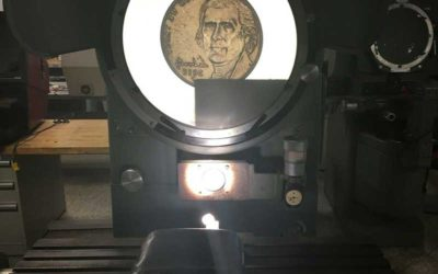 Used Optical Comparator | Heavy Duty Floor Model