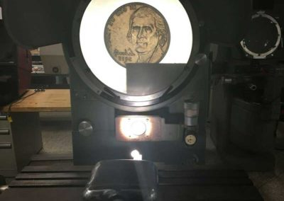 "14"" Ex-Cell-O XLO #14-5 Heavy Duty Floor Model Optical Comparator, Used Optical Comparator, Used Machinery 