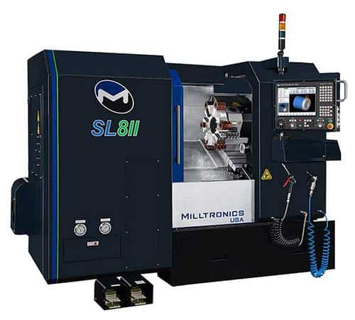 Milltronics Machinery | SL Series CNC Lathes 10% Discount From List On The Following Machines SL6-II, SL8-II & SL10-II