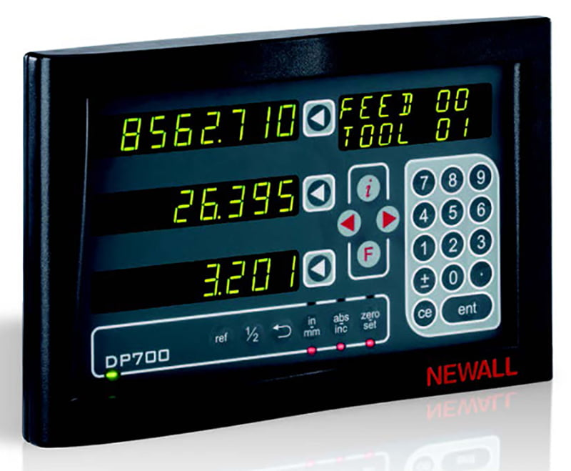 New Machinery, Newall DRO Systems and Linear Encoders | DP700 DIGITAL READOUT | Advanced Machinery Companies