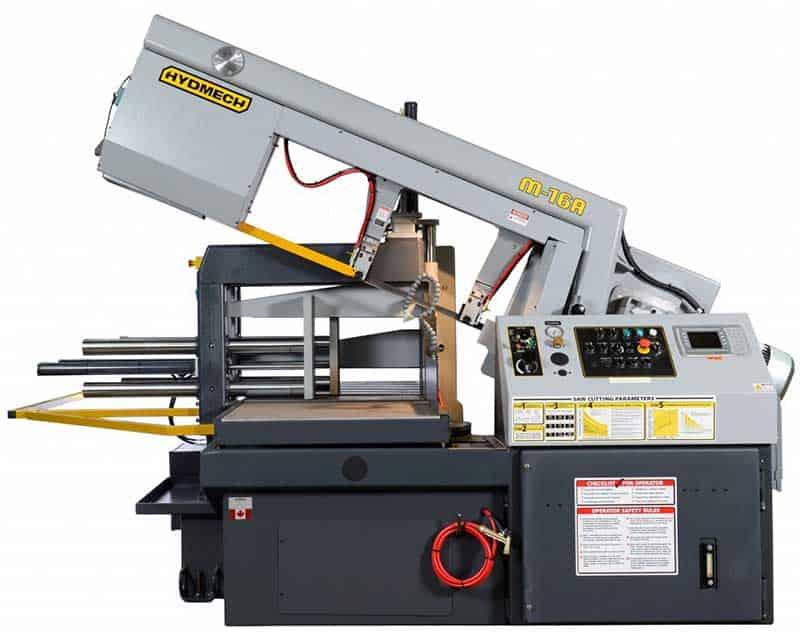 HYDMECH M-16A — Automatic Scissor Style Band Saw, New Machinery