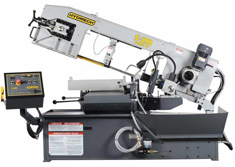 HYDMECH S-20 — Manual Scissor Style Band Saw, New Machinery