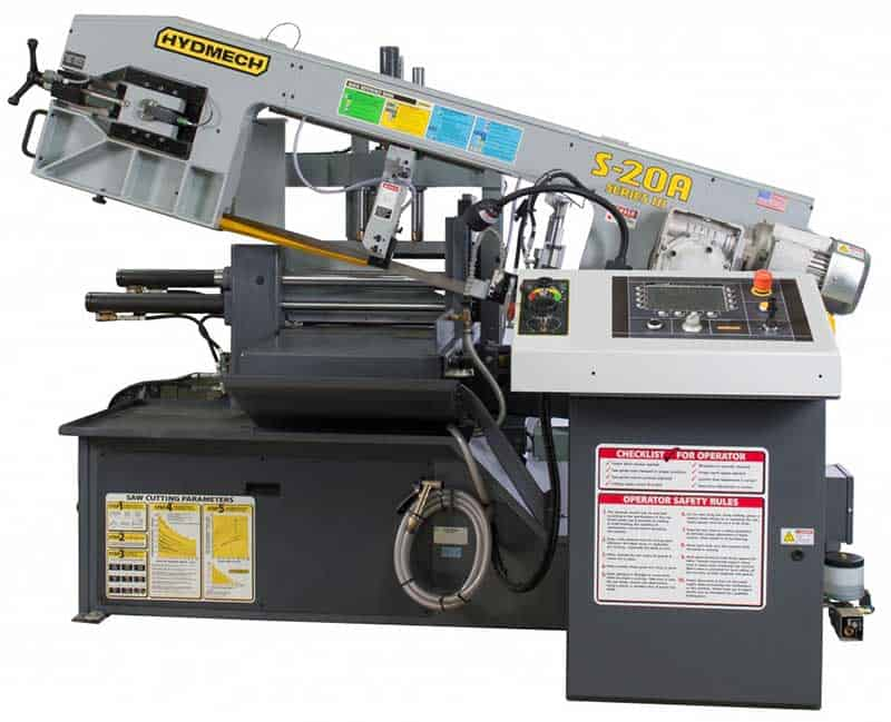 HYDMECH S-20A — Automatic Scissor Style Band Saw, New Machinery