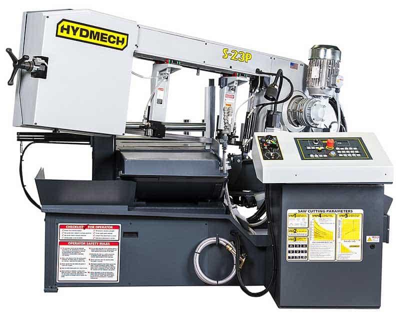 HYDMECH S-23P — Semi-Automatic Scissor Style Band Saw, New Machinery