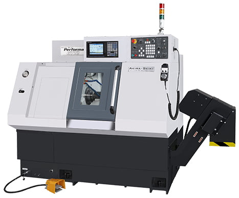 Akira-Seiki | Quick Change Gang Tool, GT12 CNC Machine | Advanced Machinery Companies